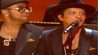 Grammy Awards 2013 Bruno Mars   Rihanna   Sting Perform Bob Marley Tribute