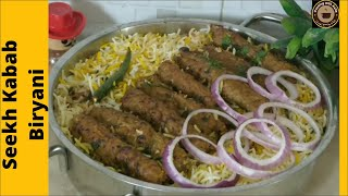 TASTY SEEKH KABAB BIRYANI RECIPE - CHEF ASIFA