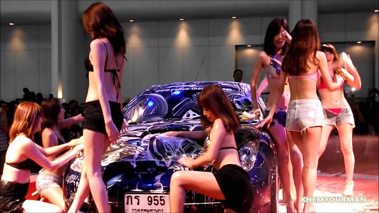 Auto Salon 2013 Sexy Car Wash - JAPAN MODEL