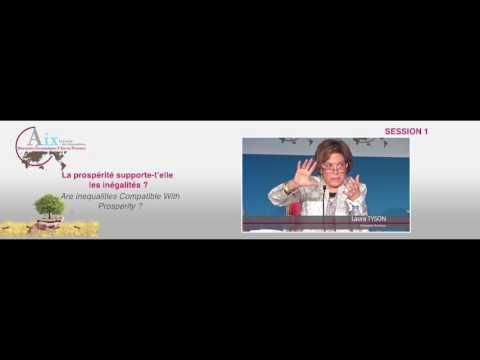 La prospérité supporte-t-elle les inégalités ? Session 1 - REAix2017