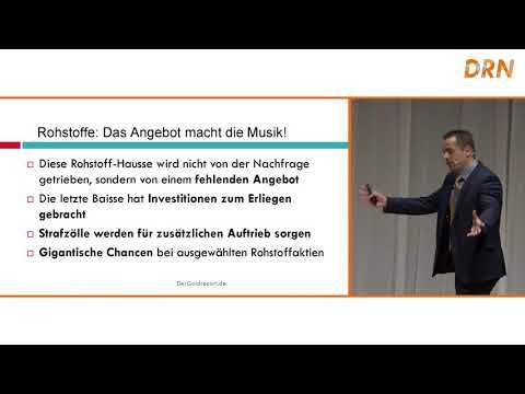 Der Goldreport - Hannes Huster: Vortrag Invest 2018 / Deutsche Rohstoffnacht