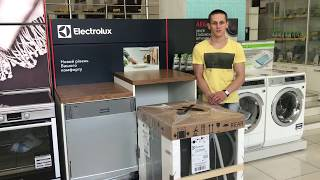 Обзор посудомоечной машины ComfortLift Electrolux ESL97845RA