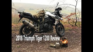 2018 Triumph Tiger 1200, Adventure Ride Review.