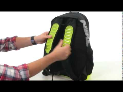 0f05fcee6b Nike Max Air Vapor Backpack Black Volt Metallic Silver - Robecart ...