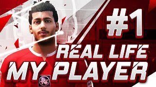 FIFA 16 REAL LIFE MY PLAYER - THE FOOTSTEPS OF MY FATHER! & REAL LIFE TRAINING! - Season 1 Episode 1