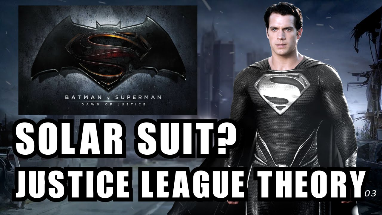 Download The Image Of The Evil Superman With Black Suit: WILL SUPERMAN WEAR THE SOLAR SUIT IN JUSTICE LEAGUE?