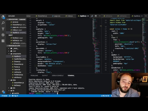 ReactJS Live Coding (Quiet Coding) - Live Stream without Commentary
