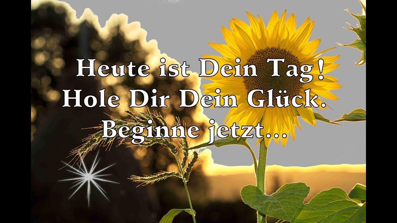 Guten Morgen Liebe Und Sonnenschein Erlebe Dein Glück