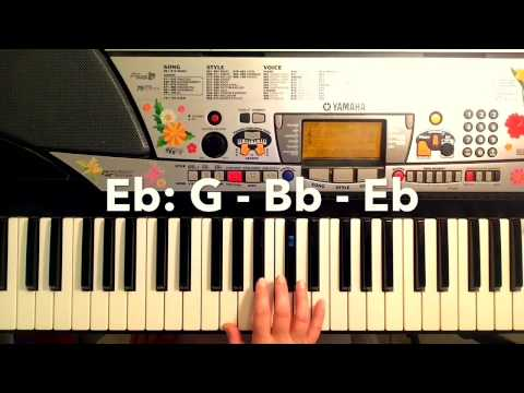 Easy Beatles Piano Tutorial - All My Loving