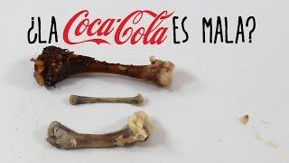 ¿La Coca Cola es mala para los huesos?