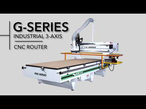 3-Axis G-Series CNC Router by C.R. Onsrud | 241G18