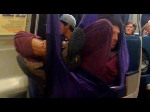 10 Minutes Of CREEPY Things Caught On Buses!
