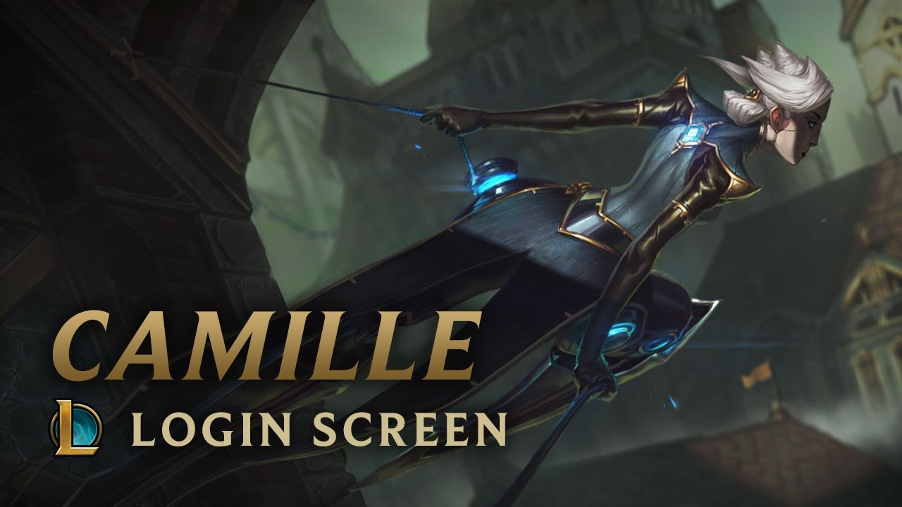 Camille, the Steel Shadow | Login Screen - League of Legends