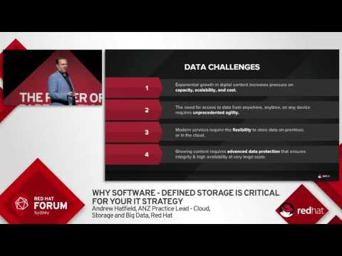 Highlights from Red Hat Forum Sydney 2016: Andrew Hatfield