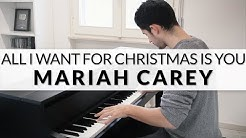 Mariah Carey - All I Want For Christmas Is You   Piano Cover