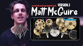 Matt McGuire - Drum Kit | Realdrum App Preset Kit
