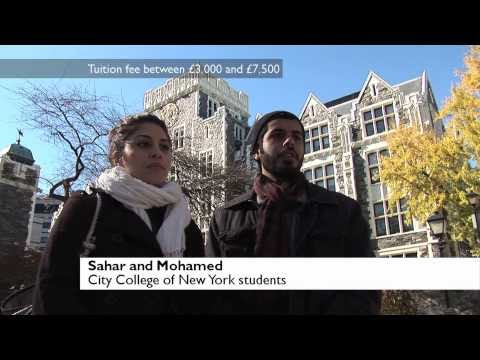 US students on coping with debt from high tuition fees