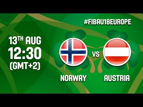 Norway v Austria - Full Game - Class 15-16 - FIBA U18 Women's European Championship 2017 - DIV B