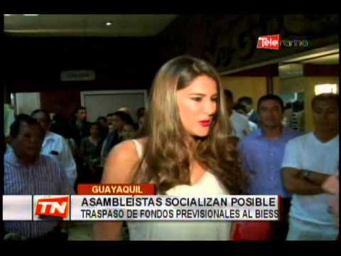 Asambleístas socializan posible traspaso de fondos previsionales al BIESS