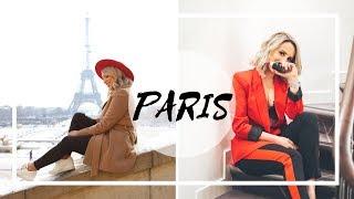 A MINHA PRIMEIRA VEZ EM PARIS | VLOG