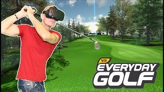 BEST VR GOLF GAME 2017? | Everyday Golf VR HTC Vive Gameplay & Giveaway