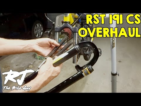 How To Disassemble/Clean/Lube/Re-assemble RST 191 CS Fork/Shocks