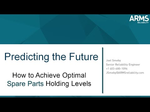 PREDICTING THE FUTURE : How to Achieve Optimal Spare Parts Holding Levels