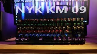 nyk km 09 mechanical keyboard disko yang murah