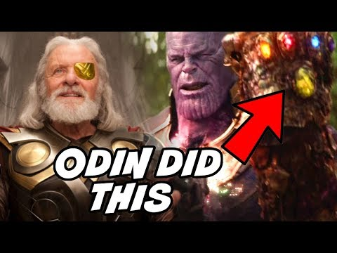 Odin Collected All 6 Infinity Stones Before Thanos Avengers Infinity War & THOR