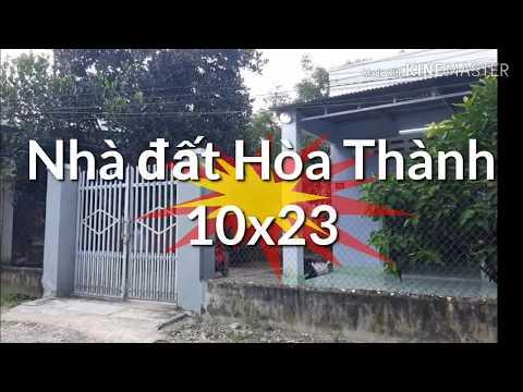 Bán Nhà đất Trường Tây, Hòa Thành, Tây Ninh 10x23 Chỉ 100tr Mét Ngang