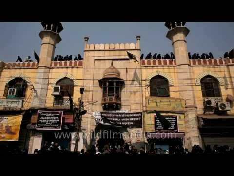 Exterior view of Shia Jama Masjid