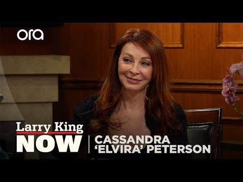 Cassandra 'Elvira' Peterson on Elvis, Funniest  Encounter   Pat Boone on Politics