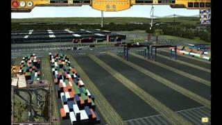Hafen Hamburg 2011 / 2012 Simulator Züge beladen