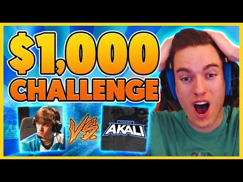 *$1,000 CHALLENGE* MY CRAZIEST CHALLENGE YET (HILARIOUS) - BunnyFuFuu