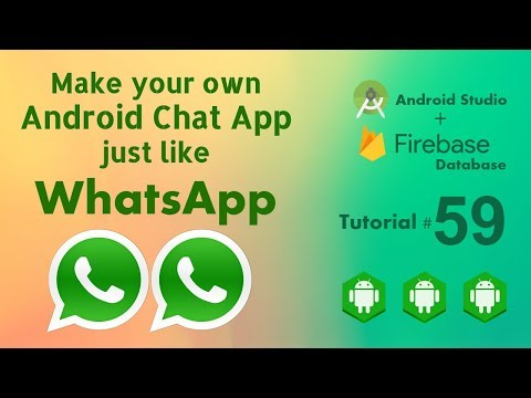 Chat App With Firebase - Send Image In Message - Upload Image To Firebase & Retrieve And Display