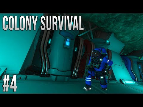 Space Engineers - Colony Survival - Ep #4 - STOLEN SHIP!