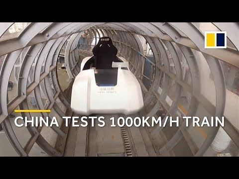 China is researching a 1000km/h high-speed train