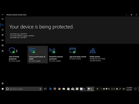 How To Enable Controlled Folder Access In Windows Defender Security Windows 10 Fall Creators Update
