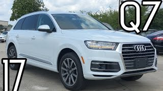 2017 Audi Q7 Full Review, Start Up, Exhaust