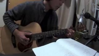 アコギをパーカッションで使ってみました。山崎まさよしの曲の中でも弾...