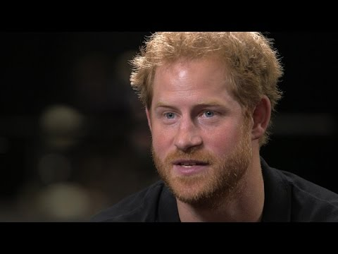 Prince Harry on Prince George, having dinner with Obamas
