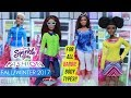 NEW Sparkle Girlz Winter Fashion for Barbie Showcase!