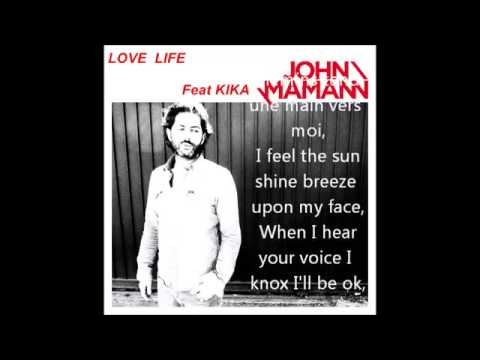 Love life john mamann paroles