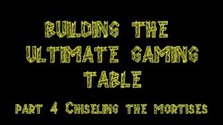 Bgbc S2e9:  Diy Building The Ultimate Gaming Table Part 4