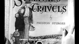 Sullivans Travels 1941 -- OPENING TITLE SEQUENCE