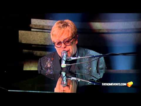 Elton John, 'Mona Lisas and Mad Hatters' clip  - from 'The Million Dollar Piano'