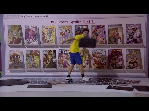 BB16E19 - Comic Book Power of Veto