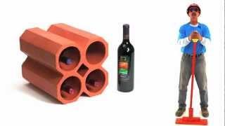 Terracotta Wine Racks