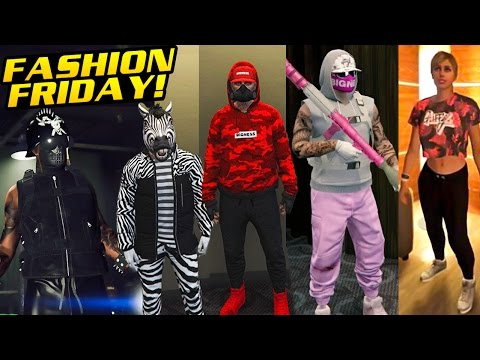 GTA Online FASHION FRIDAY - 25 NEW OUTFITS FROM THE IMPORT/EXPORT DLC - YouTube
