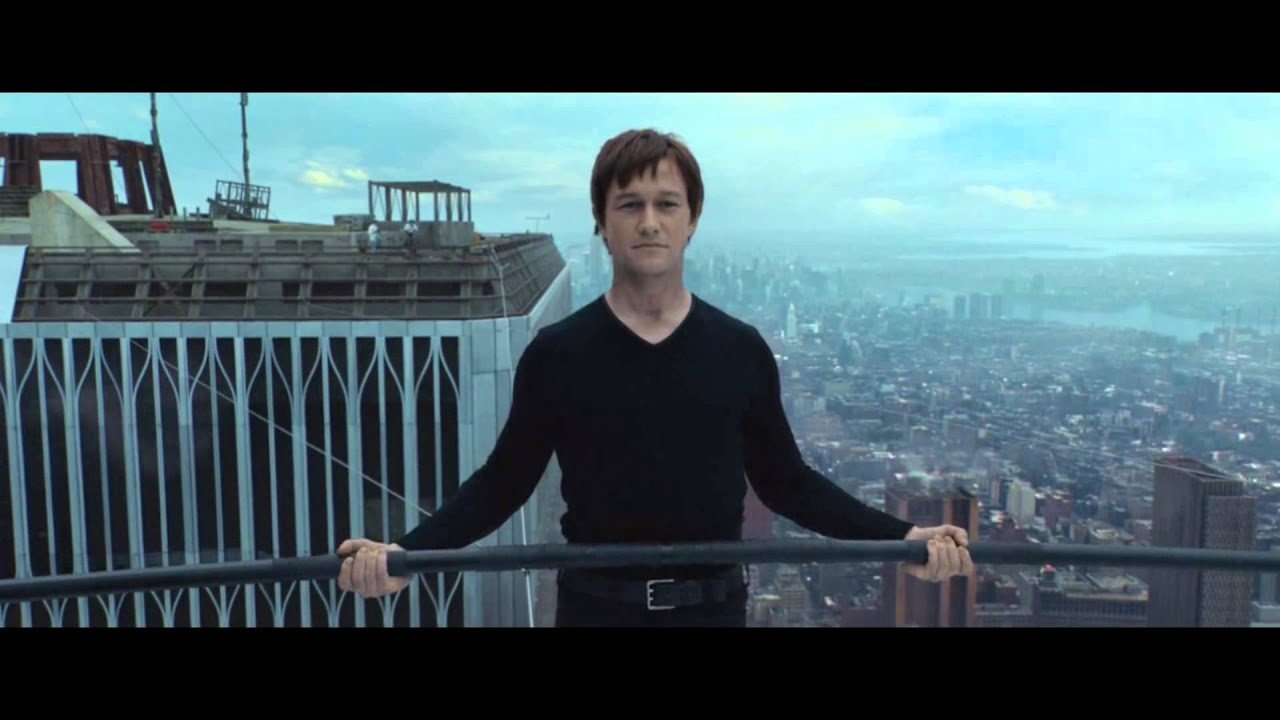 The Walk 2015 Wire Walk Hilarious Scene (HD 1080p)
